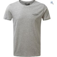 Craghoppers Mens Eastlake Short Sleeved T-Shirt - Size: M - Colour: Grey Marl