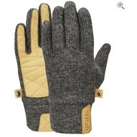 Rab Womens Ridge Gloves - Size: M - Colour: BELUGA BG