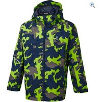 Hi Gear Kids Camo Rain Jacket - Size: 11-12 - Colour: MULTI REFLECT