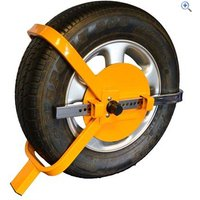 Maypole Wheel Clamp (13 - 17) - Colour: Yellow