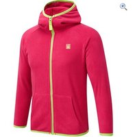 Hi Gear Eldora Kids Fleece Hoody - Size: 34 - Colour: VIVA