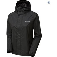 Freedom Trail Womens Stowaway Jacket - Size: 10 - Colour: JET BLACK