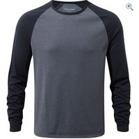 Craghoppers Mens Loki Long-Sleeved Tee - Size: XXL - Colour: BLUE MARL