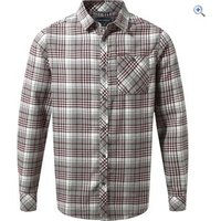 Craghoppers Mens Bjorn Long-Sleeved Check Shirt - Size: S - Colour: QUARRY GREY