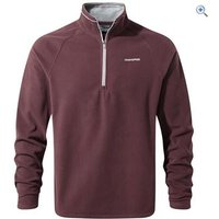 Craghoppers Mens Selby Half-Zip Fleece - Size: M - Colour: RED WINE