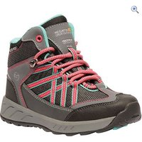 Regatta Samaris Mid JNR Kids Walking Boot - Size: 10 - Colour: GRANITE-DUCHESS