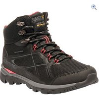 Regatta Womens Kota Mid Walking Boots - Size: 4 - Colour: BLACK-ROSEBUD