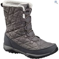 Columbia Womens Loveland Mid Omni-Heat Boots - Size: 6 - Colour: QUARRY-BLACK
