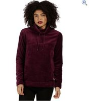 Regatta Womens Hermina Fleece - Size: 12 - Colour: Fig