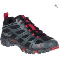 Merrell Mens Moab Edge Shoes - Size: 10.5 - Colour: Black / Red