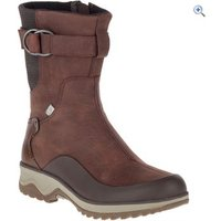 Merrell Womens Eventyr Vera Mid Polar Waterproof Boots - Size: 8 - Colour: BRUNETTE
