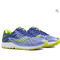 Saucony Womens Ride 10 Running Shoes - Size: 4 - Colour: PURPLE BLUE