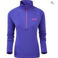 North Ridge Womens Grid Fleece - Size: 16 - Colour: SPECTRUM BLUE