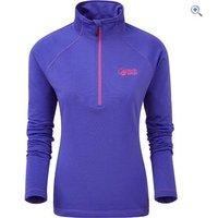 North Ridge Womens Grid Fleece - Size: 24 - Colour: SPECTRUM BLUE