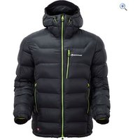Montane Mens North Star Lite Jacket - Size: XL - Colour: Black / Green