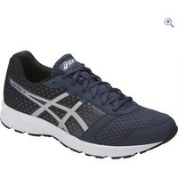 Asics Patriot 8 Mens Running Shoes - Size: 10 - Colour: BLUE SILV BLACK