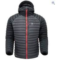 Haglfs Mens Essens Mimic Hood - Size: S - Colour: MAGNETITE BLACK