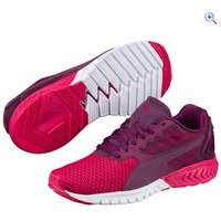 Puma Womens IGNITE Dual Mesh Running Shoes - Size: 7 - Colour: PINK WHITE