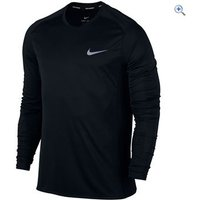 Nike Mens Nike Dry Miler Running Top - Size: XL - Colour: Black