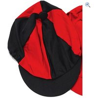 Harry Hall Hat Silk - Colour: Black / Red