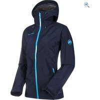 Mammut Womens Dammastock HS Hooded Jacket - Size: M - Colour: Blue