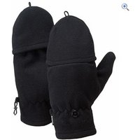 Hi Gear Tenney Windproof Fingerless Gloves - Size: S-M - Colour: Black