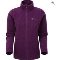 Hi Gear Womens Portland Fleece Jacket - Size: 16 - Colour: DEEP-PURPLE