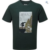 Hi Gear Mens Embrace Detours Tee - Size: L - Colour: SCARAB