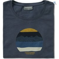Craghoppers Mens Eastlake Short Sleeved T-Shirt - Size: L - Colour: OMBRE BLUE
