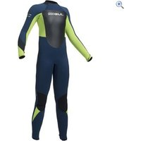 Gul Response Junior 5-3mm Steamer - Size: M - Colour: NAVY-LIME