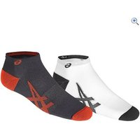 Asics Lightweight Socks (2 Pair Pack) - Size: 3 - Colour: Dark Grey