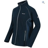 Regatta Womens Tafton Fleece - Size: 12 - Colour: Blue