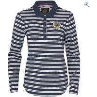 Toggi Bassington Ladies Rugby Shirt - Size: 12 - Colour: MIDNIGHT BLUE