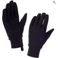 SealSkinz Stretch Fleece Nano Gloves - Size: L - Colour: Black