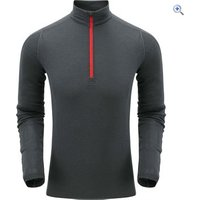 North Ridge Mens Convect-200 Merino LSZ Top - Size: L-XL - Colour: WING BLUE