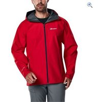 Berghaus Paclite 2.0 Mens Waterproof Jacket - Size: XS - Colour: HAUTE RED