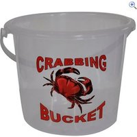 Bluezone 5 Litre Clear Crab Bucket