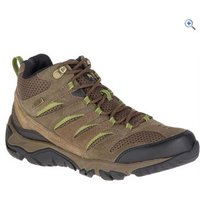 Merrell Mens White Pine Mid Vent Waterproof Boots - Size: 8 - Colour: Grey