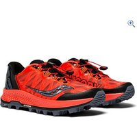 Saucony Womens KOA ST Running Shoes - Size: 6 - Colour: VIZI RED GREY