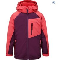 Hi Gear Kids Transition 3-in-1 Jacket - Size: 7-8 - Colour: TEABERRY