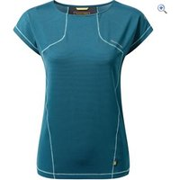 Craghoppers Womens Fusion T-Shirt - Size: 14 - Colour: FOREST TEAL