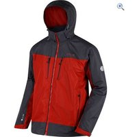 Regatta Mens Calderdale II Waterproof Jacket - Size: S - Colour: BURNT TIKKA