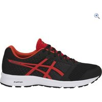 Asics Patriot 9 Mens Running Shoe - Size: 8 - Colour: BLACK FIERY RED