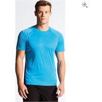 Dare2b Mens Unified II Tee - Size: S - Colour: FLURO BLUE