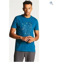 Dare2b Mens Verses Tee - Size: XL - Colour: Kingfisher Blue
