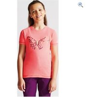 Dare2b Kids Ensemble Tee - Size: 9-10 - Colour: PINK BUTTERFLY