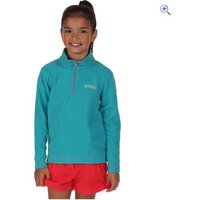 Regatta Kids Hot Shot II Fleece - Size: 5-6 - Colour: Aqua Blue
