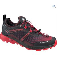 Mammut Sertig Low Mens Shoe - Size: 9 - Colour: BLACK-MAGMA