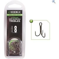 30Plus Carbon Semi Barbless Hooks- Size 6S- 10 Pack