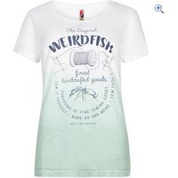 Weird Fish Womens Craftwork Tee - Size: 8 - Colour: AVOCADO